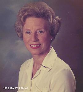 1983 Mrs W A Baird copy