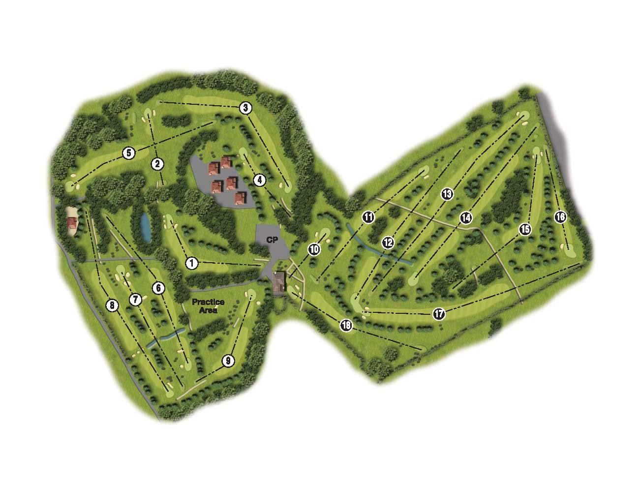 Heaton-Moor-GC-course-map